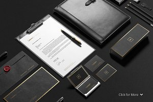 Premium Stationery Mock-Up