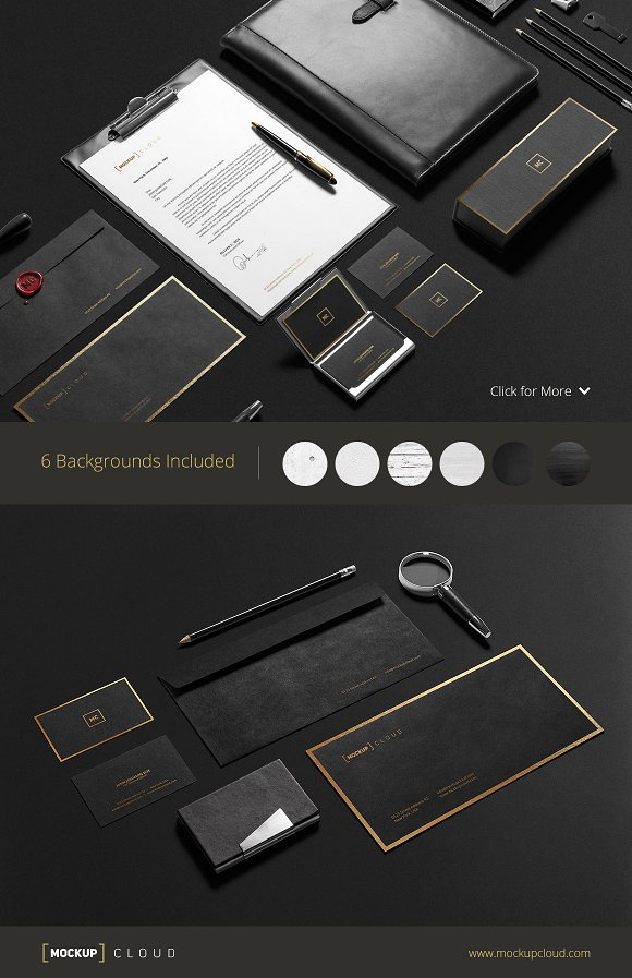 Download Premium Stationery Mock-Up