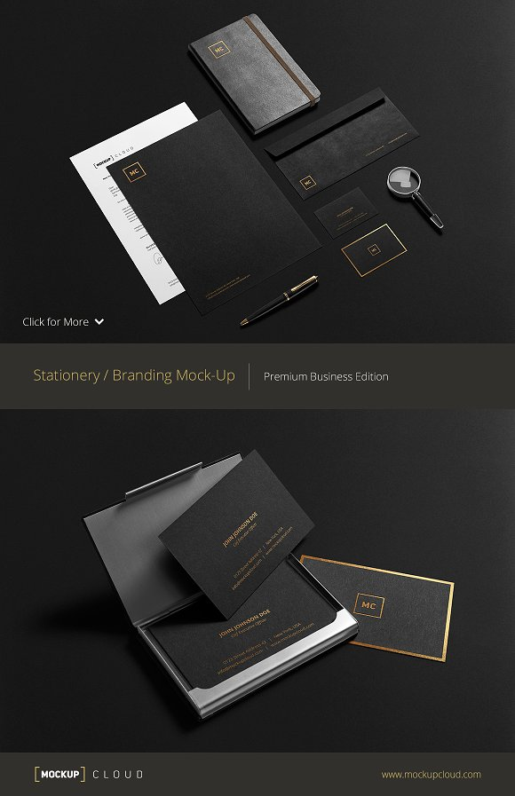 Premium Stationery Mock-Up ~ Product Mockups ~ Creative Market