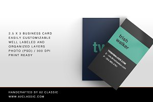 Simple Colorful Business Cards