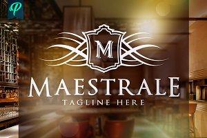 Maestrale - Classy Elegant Logo