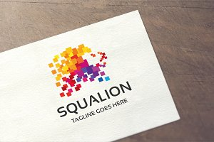 Squa Lion Logo