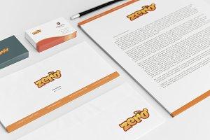 Zero Brand Identity