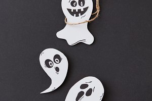 Creative Halloween card with