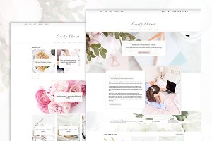 Emily · Feminine Blog & Shop Theme