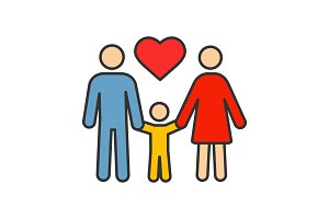 Family color icon