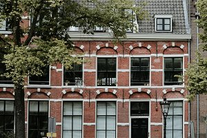 Girl in Amsterdam City