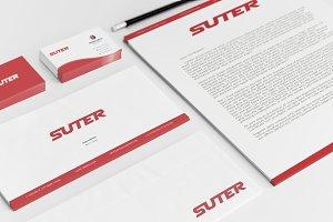 Suter Brand Identity