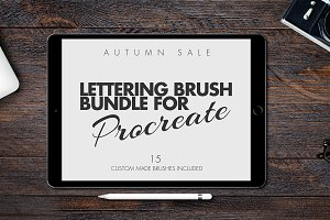 AUTUMN BRUSH BUNDLE(procreate) SALE!
