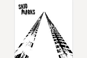 Vector skid marks