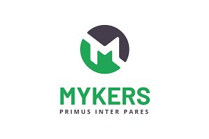 Mykers Letter M Logo Template