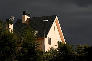 Sunbeam before the storm