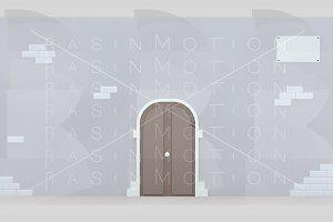 Facade door