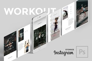 Workout Instagram Stories