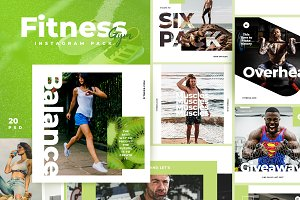 Fitness & Gym instagram pack