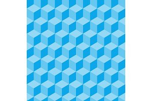 Geometric pattern. Cube
