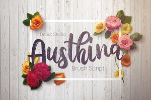 Austhina Brush Calligraphy