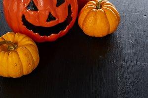 Pumpkins halloween day