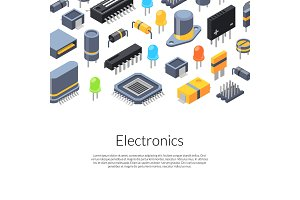 Vector isometric microchips and