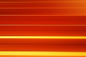 Horizontal orange motion blur panels