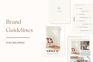 NEW! Brand Guidelines CANVA template