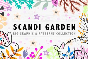 Scandi Garden