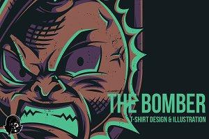 The Bomber Illustration
