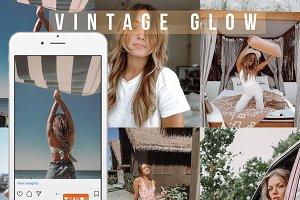 Vintage Glow Lightroom Mobile preset