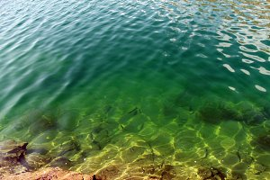Lulusar Lake Beautiful Green Water