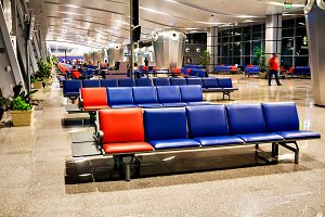passenger seat in the terminal or De