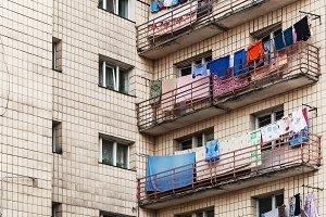 Apartment house hostel in Kiev, Ukra