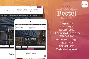 Bestel - Hotel HTML Website Template