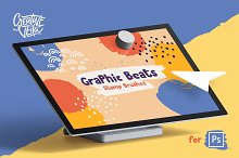Graphic Beats: Photoshop Brushes by  in Brushes