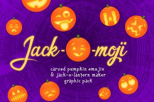Jack-O-Moji Graphics Pack