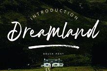 Dreamland | Brush Font