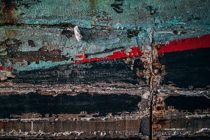 Old Wooden Boat Texture