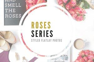Roses Series | Flatlay Photos