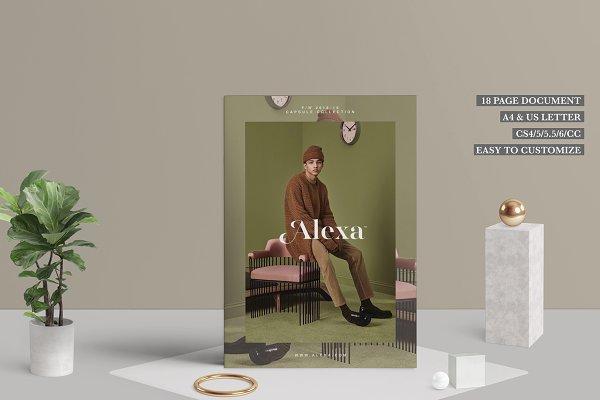 Magazine Templates - Fashion Lookbook - Alexa™