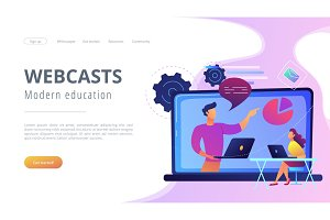 Webcasts and modern education