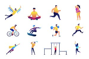 Sport and lifestyle vector