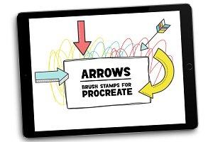 Arrow Brush Stamp Pack