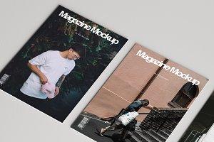 Minimal Magazine Mockup Pack