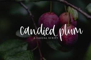Candied Plum