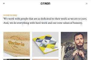 Citron - Portfolio WordPres Theme