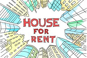 House for rent sketch realty circle.
