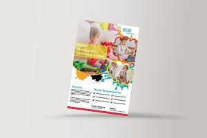 Kid's Care Flyer Template V857
