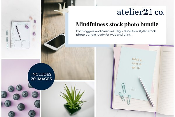 Mindfulness Styled Stock Bundle