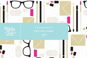 Creative Office Vector Set