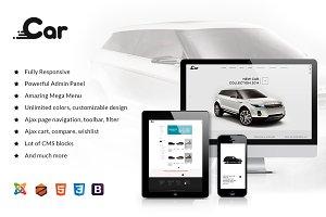 ZT Car Responsive Joomla Template