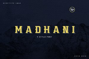 Madhani Font Family ( 50% off! )